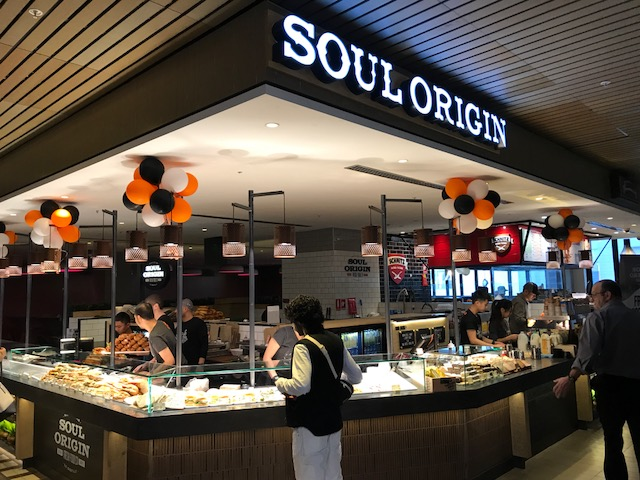 Grand Opening of Soul Origin at Melbourne Central following successful lease negotiations